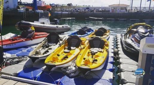 Jet Surf Canary Jet Kayaks Zodiac Plataforma